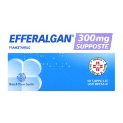 Efferalgan 10 supposte 300 mg