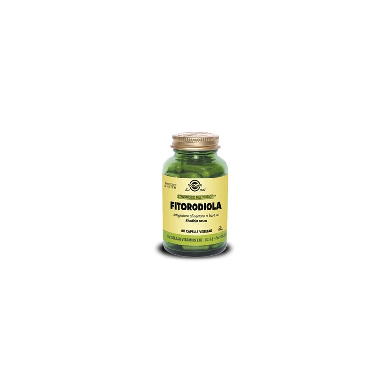 Solgar It. Multinutrient Fitorodiola 60 Capsule Vegetali